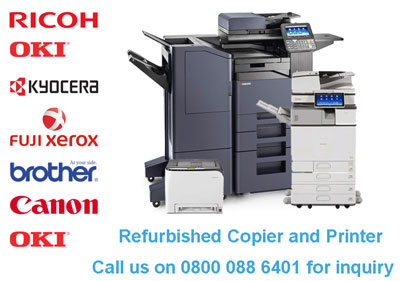 Refurbished Copier and Printers